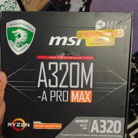 msi a320m pro max