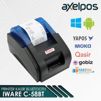 THERMAL PRINTER C58BT PRJ58D USB + Bluetooth