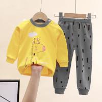 Baju Tidur Anak Setelan Piyama katun panjang import laki cewek bayi 5