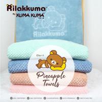RILAKKUMA BY KUMA KUMA PINNEAPLE TOWEL 140 X 70 CM