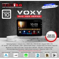 Head Unit Android Tomiko Toyota Voxy 10 Ram 4+64