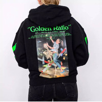 Off White Pascal Painting Hoodie Black (100% Authentic)