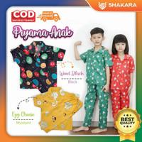 Piyama Anak / Baju tidur anak laki-laki / perempuan usia 6-12 tahun - Cowok, 8