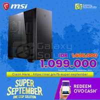 MSI MPG SEKIRA 100P Tempered Glass Gaming Case