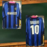 Jersey Ori Inter Milan Home, BAGGIO #10
