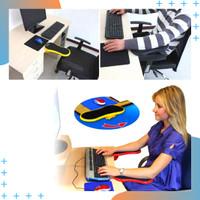 Sandaran Tangan Mouse Meja Kerja Komputer Laptop Arm Rest Pad - 91526