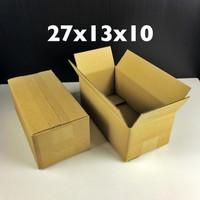 Box Karton Kardus Sepatu BARU 27 x 13 x 10 cm kotak sepatu non die cut
