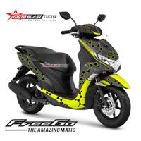 Decal Sticker Motor Motoblast - Yamaha Freego Livery Iannone-Full Body