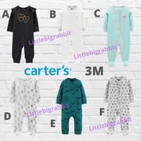 Sleepsuit Carters Carter Carter's - Baju Tidur Bayi Branded 3M 3 bulan