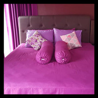 Promo Bedcover Set Bed Cover Bad Cover Set Katun Jepang Single 120X200