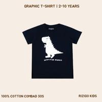 Baju Anak Rizigo Kids - Baju Anak Dinosaurus - Kaos Anak Laki Laki