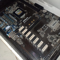 motherboard mining 13 slot VGA ASRock h110 pro btc mainboard Mobo 1151