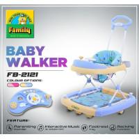 Baby walker family 2121 - Biru