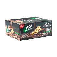 L-Men Bar Crunchy Chocolate 12 Whey Protein Healthy Snack Diet Lessfat