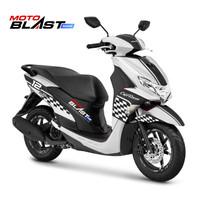 Decal Sticker Motor Motoblast - Yamaha Freego LIvery Cafe Racer