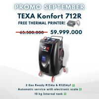 PROMO SEPTEBER TEXA KONFORT 712R FREE TERMAL PRINTER