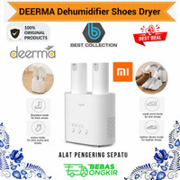 DEERMA Dehumudifier Shoes Dryer DEM HX20 - Alat Pengering Sepatu