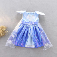 Talia Frozen Anna Elsa Terbaru Disney Princess Kostum Impor Dress Baju