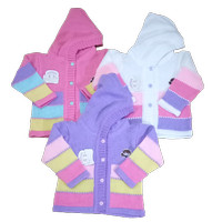 Mantel Rajut Jaket Lucu Baju Bayi Newborn Laki Perempuan