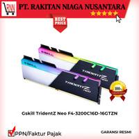Gskill TridentZ Neo F4-3200C16D-16GTZN DDR4 RGB PC25600 16GB (2X8GB)
