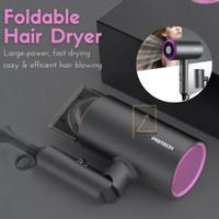 PRITECH Foldable Hair Dryer Salon Professional 1400W Pengering Rambut
