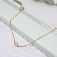 gelang tangan berlian eropa asli - perhiasan emas asli