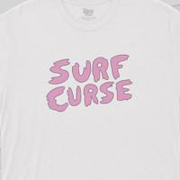 [TshirtFanclub] Kaos Music Band Surf Curse - Putih, S
