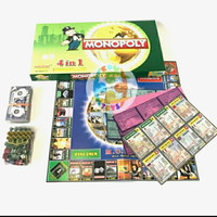 Mainan Keluarga Monopoli 4in1/ mainan miliader monopoli