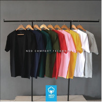 PROMO kaos oneck premium cotton combed 30s