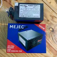 Power Supply Mejec 500watt - Psu 500watt komputer