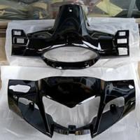 batok kepala depan belakang motor karisma x warna hitam