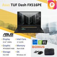 ASUS TUF DASH 15 FX516PE RT3050Ti i7-11370H 144Hz 8GB 512GB 15.6 FHD