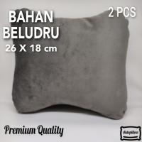 Bantal Leher Mobil Bahan Bludru | PREMIUM QUALITY