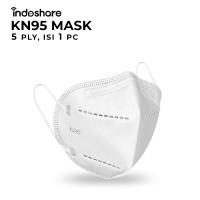 Masker Kesehatan KN95 FDA Certified - 1pcs