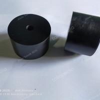 karet monting 60x40 lobang 10mm / karet engine mounting 60x40