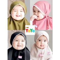 Kerudung Bayi Jilbab Hijab Anak Bayi Perempuan Bergo Instant Termurah
