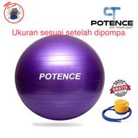 Yoga ball + gym ball + yoga ball POTENCE 55CM