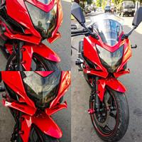 Winglet Sayap Fairing tambahan Ninja 250 rr Mono Ninja 250 SL Fiber