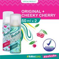 BUY 1 GET 1 Batiste Dry Shampoo Original 50ml + Cheeky Cherry 50ml