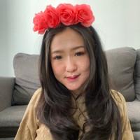 Bando bunga mawar besar / flower crown / aksesoris bando valentine