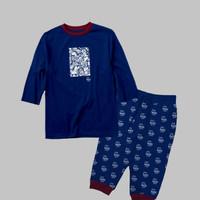 stelan baju kaos anak laki laki usia 2 - 10 tahun