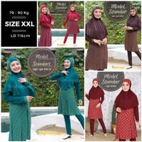 Baju renang muslimah jumbo (XXL)