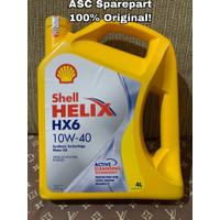 Oli Shell Helix HX6 10W-40 (4L) || 100% Original!