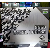 ASROCK B550 Steel Legend | MOBO RGB ATX SOCKET AM4 UP TO RYZEN5000 PRO