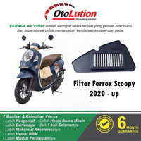 FILTER UDARA FERROX HONDA SCOOPY 2020 - UP