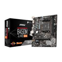 MSI B450M-A Pro MAX (AM4, AMD Promontory B450, DDR4, USB3.2, SATA3)