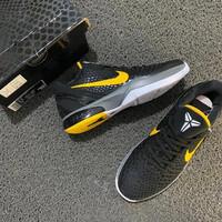Nike Kobe 6 Protro Low Black Del Sol (Sepatu Basket)