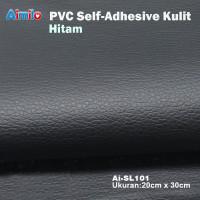 sarung cover kulit jok motor Stiker kulit berperekat yang kuat