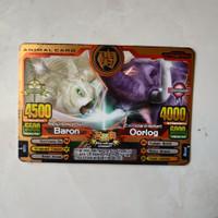 Kartu Animal Kaiser Barlon vs Oorlog Evo 8 Bronze Rare 100% Original