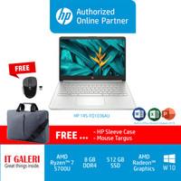 HP 14S-FQ1037AU & FQ1036AU R7-5700U/8GB/512GB/RV8/14.0/GOLD/WIN10